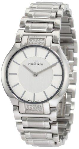 Pierre Petit - P-799I - Montre Femme - Quartz Analogique - Bracelet Acier Inoxydable Argent