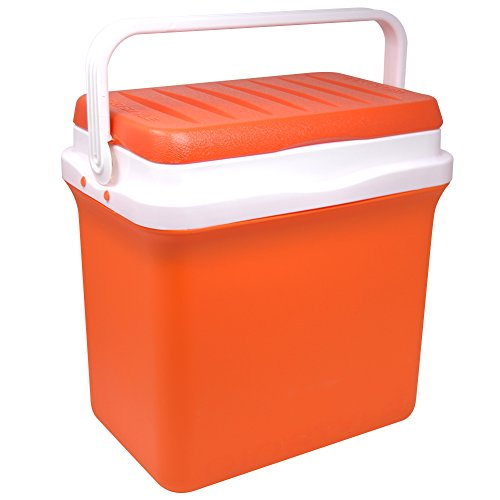 Frigorifero portatile passivo 32,5 litri bravo 30 da viaggio per campeggio picnic colore arancione giò style