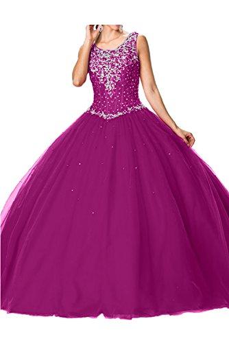 Sunvary Glamour Neu Traeger Perlen Paillette Ballgown Abendkleider ...