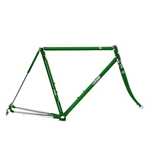 Cinelli Men's Supercorsa Bicycle Frame Set, 54cm/One Size, Jaguar Green