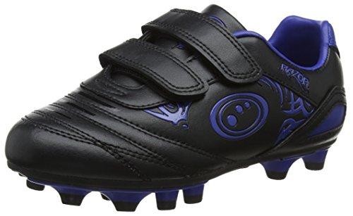 OPTIMUM Jungen Razor Fußballschuhe Blau (Black/Blue) 26 EU