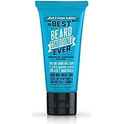 JUST FOR MEN Acondicionador para la Barba- Acondicionador para el cuidado, contra irritaciones y suavizar la Barba - 88ml
