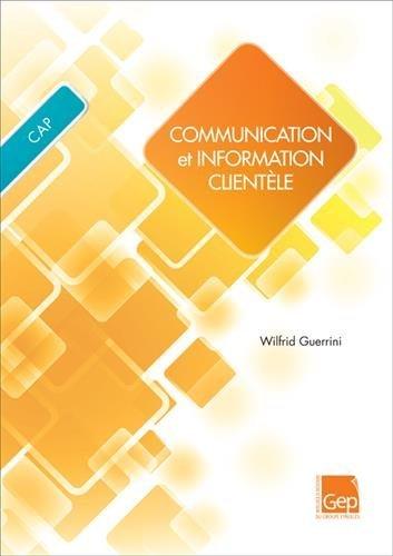 Communication et information clientèle