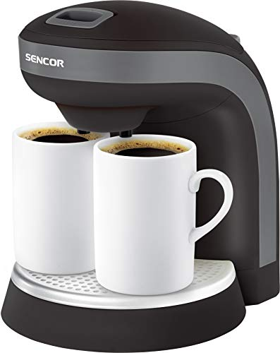 SENCOR SCE 2000BK, Kaffeemaschine, Schwarz
