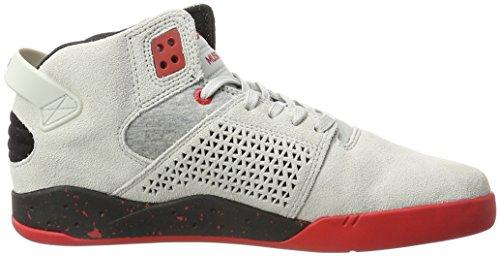 Supra 08000, Zapatillas De Deporte De Alto Rendimiento Para Hombres Grau (gris-rojo)