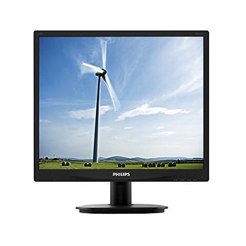 Philips 19S4QAB/00 19 cm (19 Zoll) Monitor (VGA, DVI, 1280 x 1024, integrierte Lautsprecher),