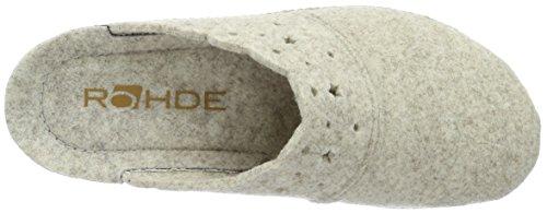 Rohde Damen Neustadt-D Clogs Beige (silk 13)
