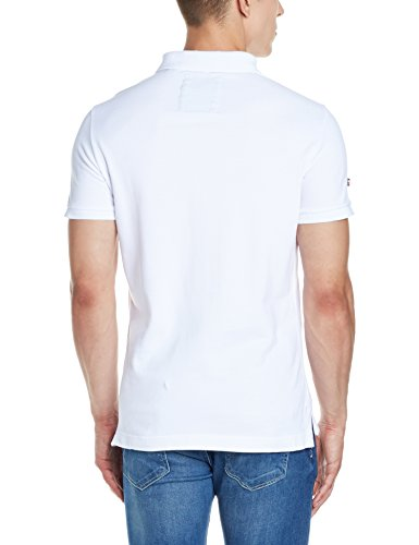Superdry Herren Poloshirt Classic New Fit Weiß (Optic)