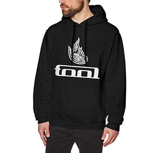WSND Tool Band Logo Mens Long Sleeve Sweatshirts Man Hoodies Black Star Zip Youth Sweatshirt