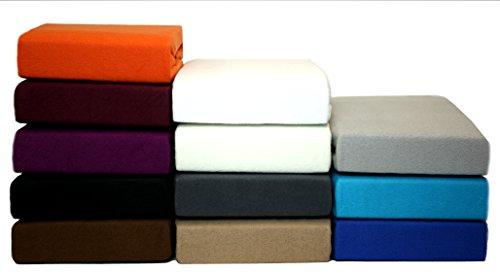 Thermo Fleece Spannbettlaken, Spannbetttuch aus Microfaser und Baumwolle für den Winter in allen Größen und vielen Farben