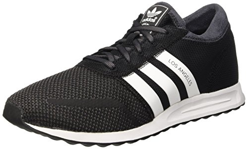 Adidas Los Angeles, Scarpe Low-Top Uomo Multicolore (Cblack/Vinwht/Shablk)