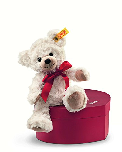 Steiff 109904 - Teddybär Sweetheart 22 cm in Herzbox, creme