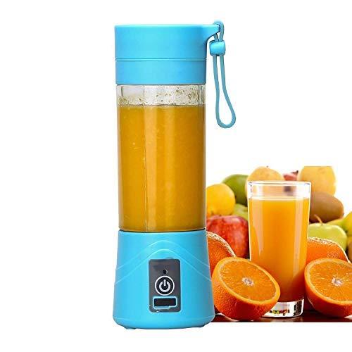 BUYERZONE WITH BZ LOGO Rechargeable USB Mini Juicer Bottle Blender for Making Juice, Shake, Smoothies (Multicolour)