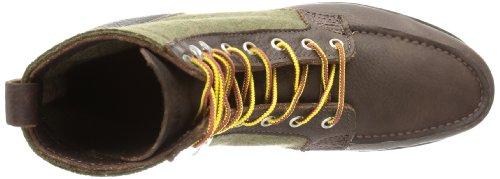 Sebago  STOCKTON BOOT,  Polacchine uomo Multicolore (Mehrfarbig (CHOCOLATE/WOOL))