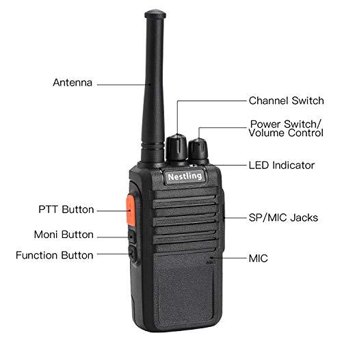 Zoom IMG-1 nestling 2pz walkie talkie professionali