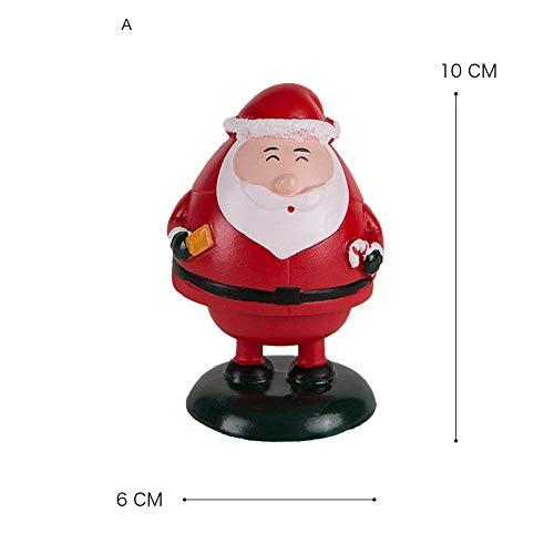 Interieurleisten Santa Claus-Karikaturfrühling verziert Hauptkinderzimmerwohnzimmer-Portaldekoration@Abschnitt A -