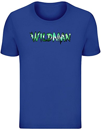 Wildman T-Shirt for Men - 100% Soft Cotton - High Quality DTG Printing - Custom Printed Mens Clothing Top Unisex
