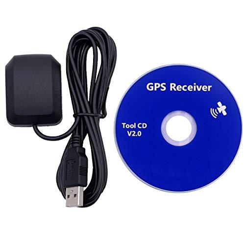 GPS USB, Dualband, Glonass Active Receiver Antenne, wasserdichtes Gerät, funktioniert mit Laptop, Outdoor Navigator, Auto Tracker, Streets Navigationssysteme, Windows kompatibel, 27 db Gewinn
