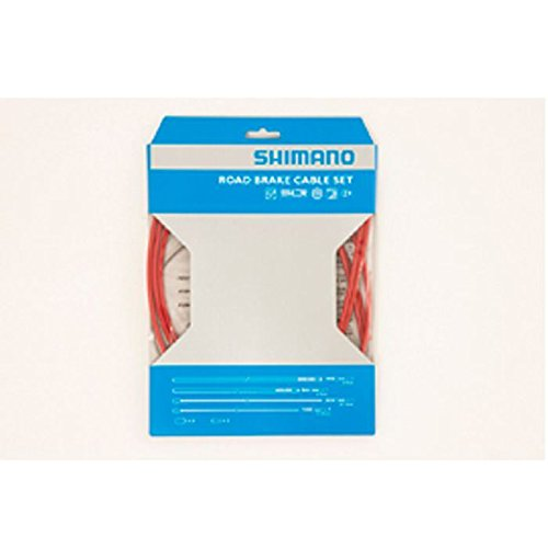 shimano-brake-cable-kit-and-girdles-road-ptfe-sheath-colour-red