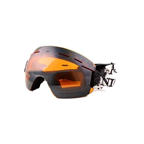 TZQ Grenzenlose Sphärische Licht Doppel Anti-Fog Skibrille Radfahren Schutzbrillen Windschutz Motorrad Spiegel,D