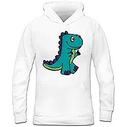 Sudadera con capucha de mujer Dino T-Rex by Shirtcity