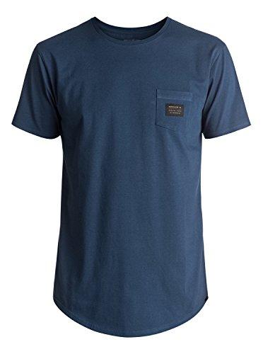 Quiksilver Scallop East Woven - T-Shirt - T-Shirt - Männer - L - Blau (Shirt Quiksilver Woven Herren)