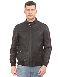 U.S. Polo Assn. Men Cotton Black Jacket