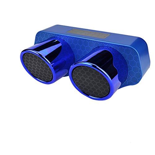 Huacat Bluetooth Lautsprecher Neuer drahtloser Doppellautsprecher Subwoofer Leistungsstarker Watt Wireless 360° Sound Speakers mit Wasserfest Stoßfest Mikrofon und Reinem Bass