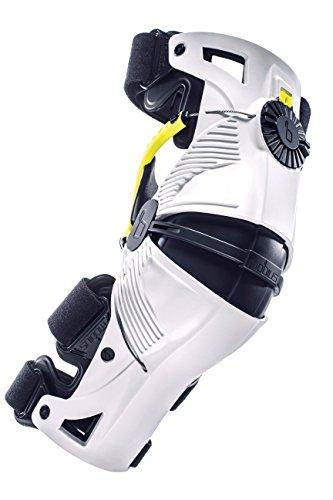 MOBIUS Knieschützer, Knieprotektor X8, weiß/gelb, Größe XS