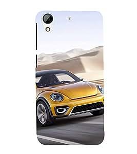 Luxury Car 3D Hard Polycarbonate Designer Back Case Cover for HTC Desire 728 Dual Sim :: HTC Desire 728G Dual Sim