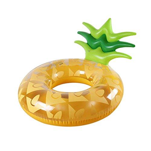 DMGF Riesiges Aufblasbares Pool-Floss-Floss-Ananas-Schwimmring-Schnellventil-Luft-Matten-Sommer-Wasser-Sport-Spielzeug-Strand-Party-Ruhesessel Und Flöße Für Erwachsen-Kinder