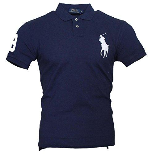 Ralph Lauren Herren Polo - Blau - großer weißer Reiter