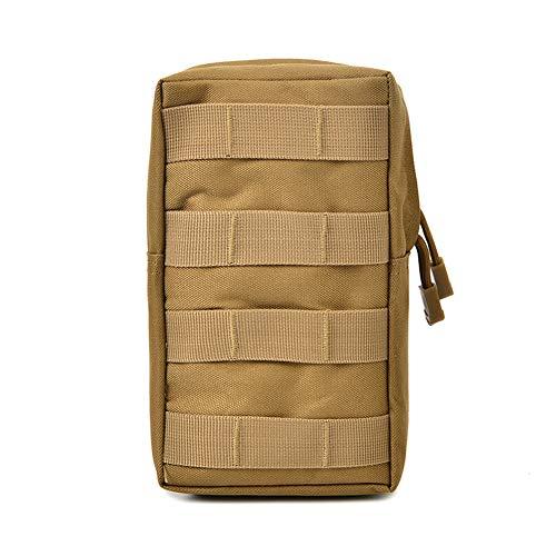 Wakerda Unisex Táctico Militar Bolsillo en la Cintura Bolso de Camuflaje Bolsillos Ligeros Impermeable Material Transpirable