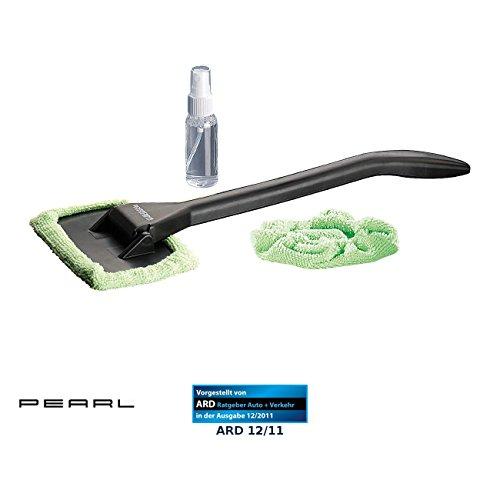 PEARL Autoscheibenreiniger: Windschutzscheiben-Wunder: Mikrofaser-Scheibenreiniger 39 cm (Windschutzscheiben Reiniger) (Auto Fensterwischer)