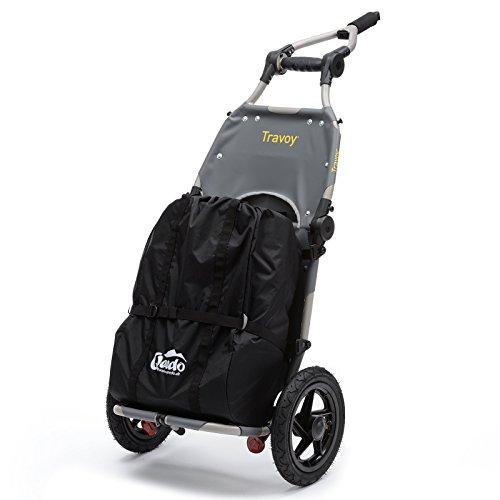 Burley Travoy Fahrrad Lastenanhänger und Einkaufs-Trolley (inkl. Kupplung) und Qeedo Shopping Bag