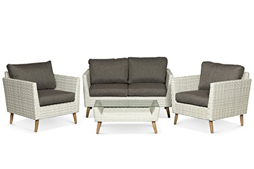 Lanterfant - Loungeset Luuk, Gartenmöbel-Set, Sitzgruppe, 4 Sitze, Sitzgarnitur