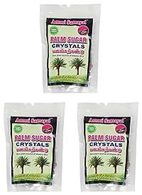 Ammi Samayal Palm Sugar Crystals Panangkarkandu, 100 Grams (Pack of 3)