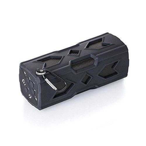 QAZWSX Bluetooth Lautsprecher Wasserdicht Im Freien, 1800Mah Bluetooth-Lautsprecher Csr-4.0 mit NFC-Funktion Not-Lade-Port