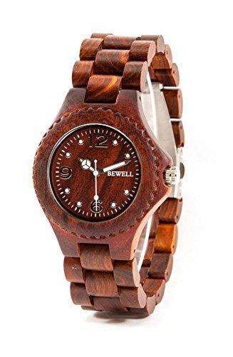bewell-reloj-madera-natural-de-sandalo-rojo-con-movimiento-de-cuarzo-analogico-sumergible-y-de-gran-