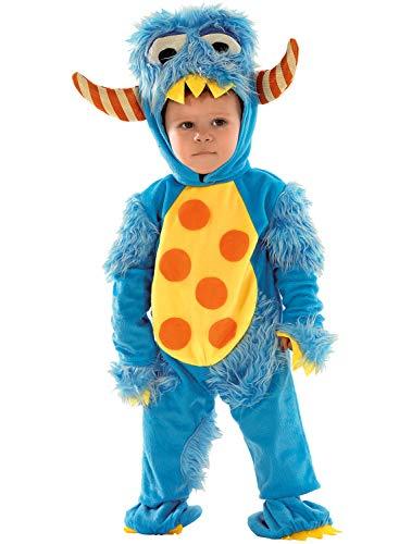 chiber Kostüm Monster für Babys 6-12 Meses (Sesamstraße Baby Kostüm)