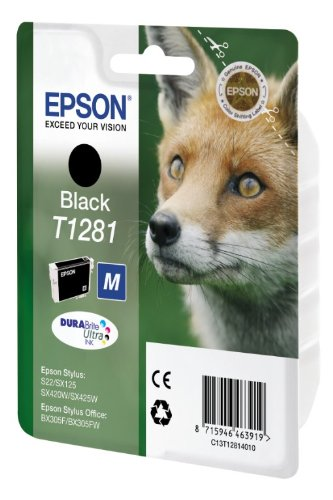 Epson - C13T12814012 - Cartouche d'encre d'origine Durabrite Ultra Noir