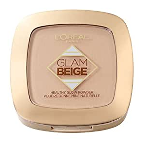 L'Oréal Paris Glam Beige Cipria Matte, Effetto Naturale, 20 Light