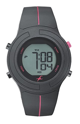 Fastrack Casual Digital Gray Dial Women's Watch - 68002PP01J image