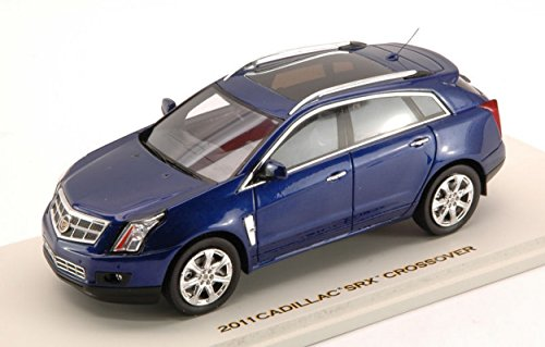 luxury-lx10095-cadillac-srx-crossover-2011-imperial-blue-143-modellino-die-cast