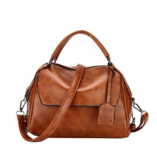 Yy.f Nuovi Borse Big Bag Di Modo Sacchetto Cuscino Sacchetto Cera Di Petrolio Sacchetto Del Messaggero Di Spalla Portatile Signora Sacchetti Di Vari Colori Black