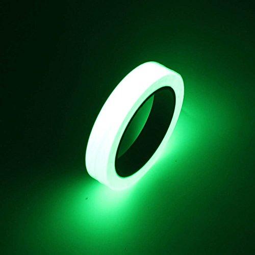 fomccu luminoso brilla en la oscuridad cinta de seguridad autoadhesivas para el hogar Diseño adhesivos 1cm x 10m