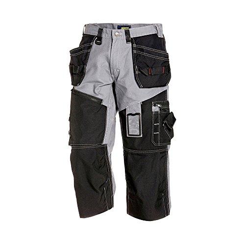 """Preisvergleich Produktbild Blåkläder Workwear Piratenhose """"X1500"""", 1 Stück, C52, grau / schwarz, 67-15011370-9499-C52"""