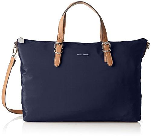 comma Damen Any Time Audrey Handbag Lhz Handgelenkstasche, Blau (Dark Blue), 14x27x43 cm - Audrey Tasche