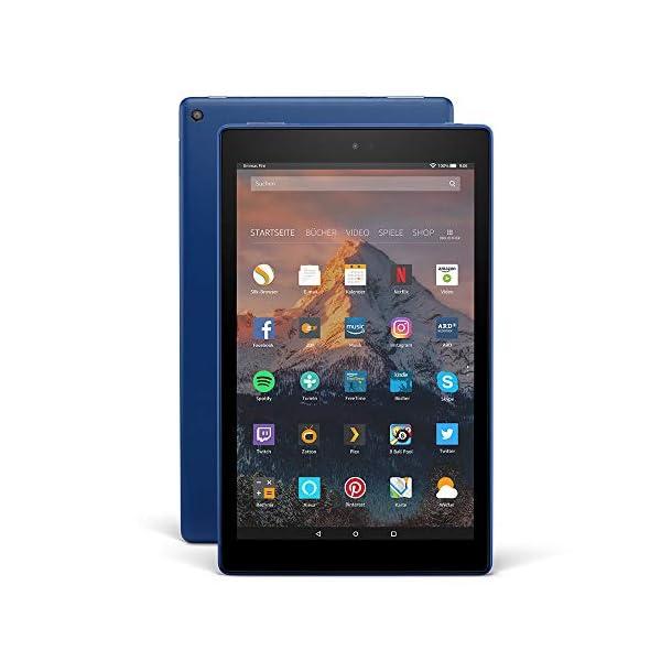 Fire HD 10-Tablet, 1080p Full HD-Display, 32 GB, Schwarz, ohne Spezialangebote (vorherige Generation – 7.)
