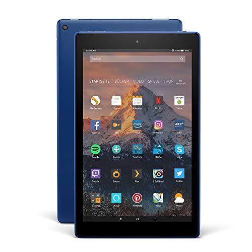 Fire HD 10-Tablet, 1080p Full HD-Display, 32 GB, Blau, mit Spezialangeboten (vorherige Generation - 7.)